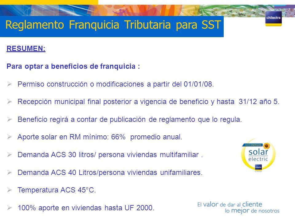 Reglamento Franquicia Tributaria para SST