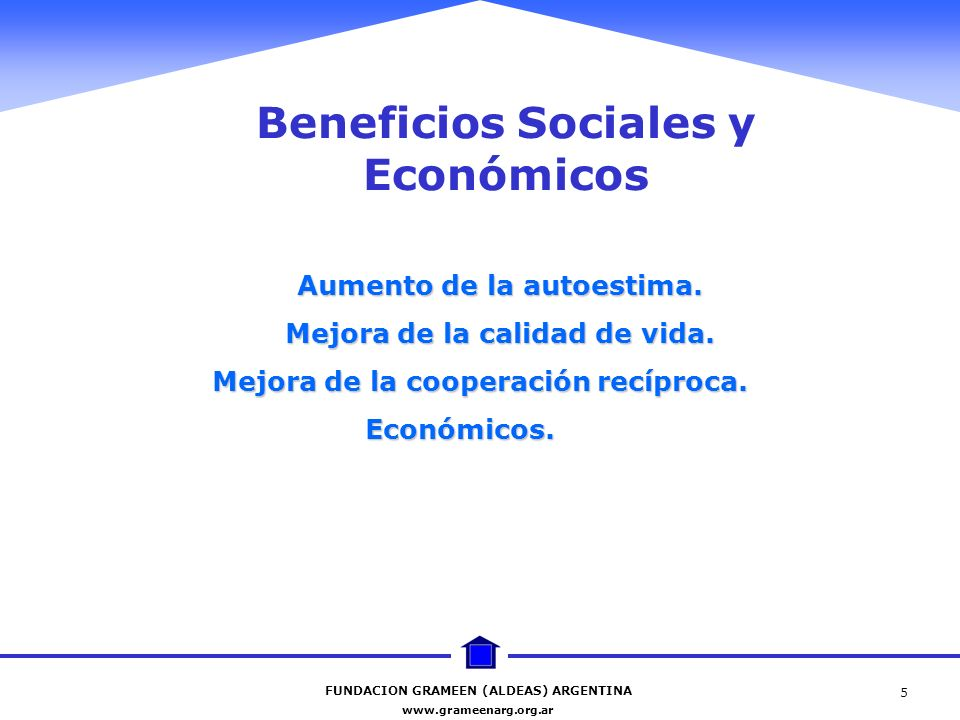 Beneficios Sociales y Económicos