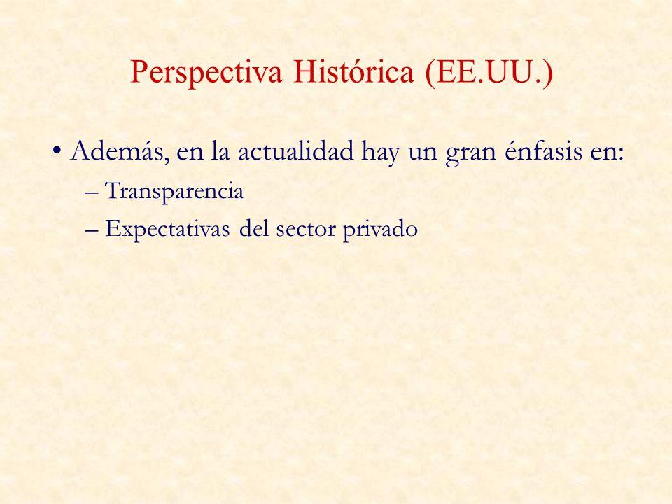 Perspectiva Histórica (EE.UU.)