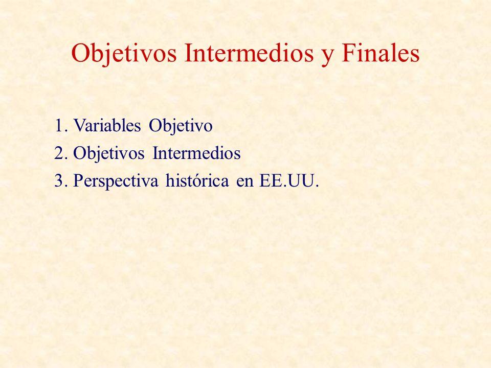 Objetivos Intermedios y Finales