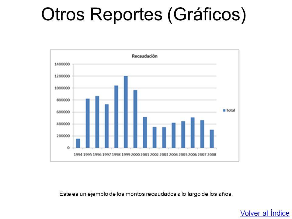 Otros Reportes (Gráficos)