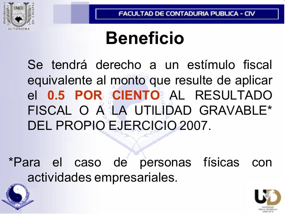 Beneficio