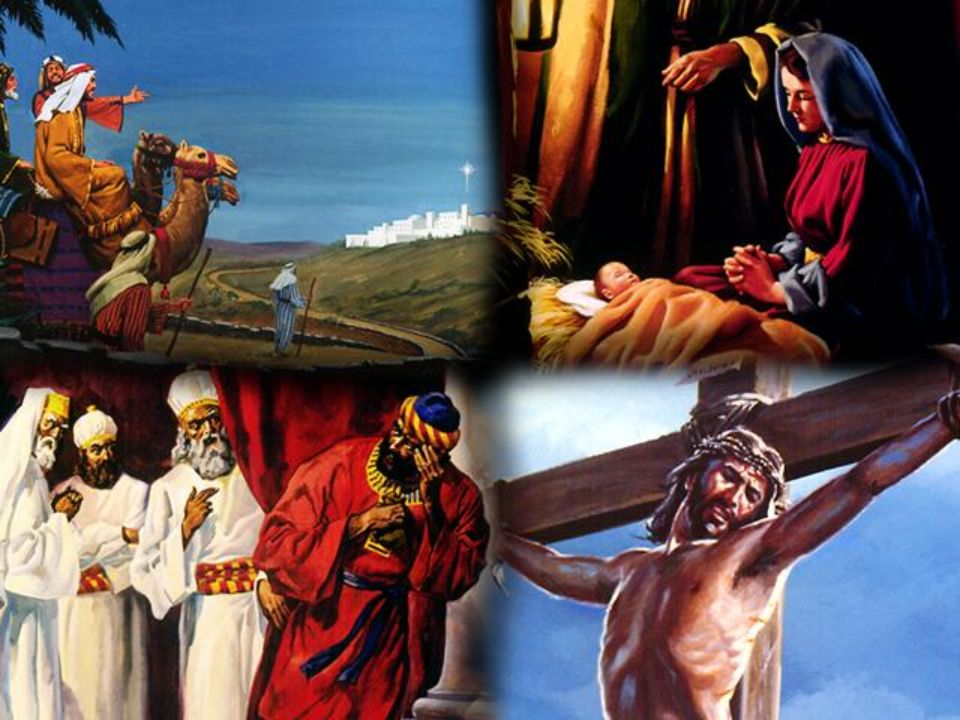 El antiguo testamento profetizó la primera venida de Cristo y el Nuevo Testamento cuenta la historia de la vida y muerte de Jesús.