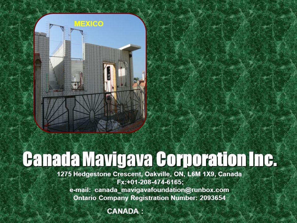 Canada Mavigava Corporation Inc.