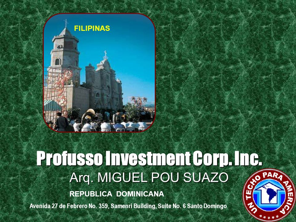 Profusso Investment Corp. Inc.