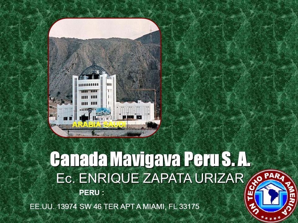 Canada Mavigava Peru S. A.