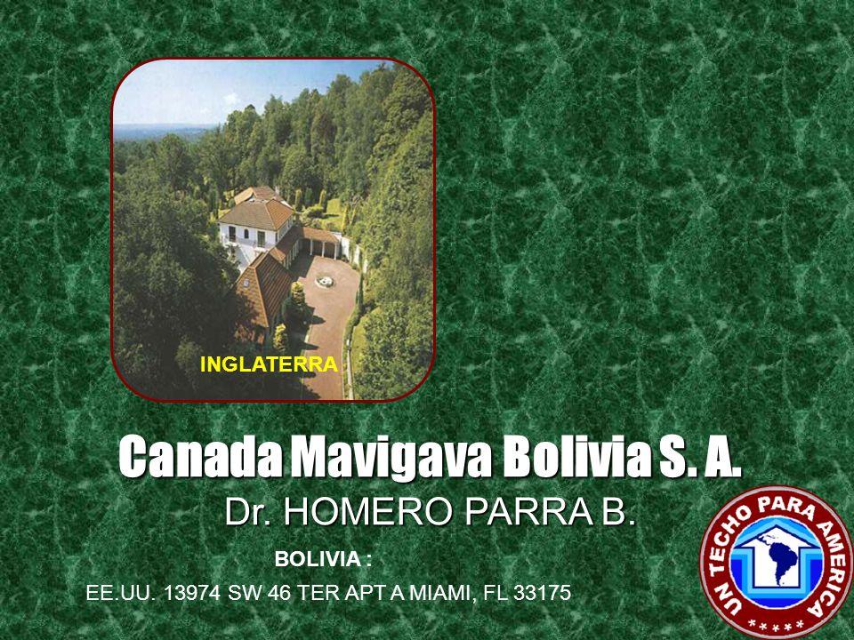 Canada Mavigava Bolivia S. A.