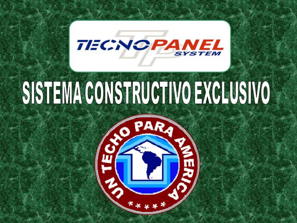 SISTEMA CONSTRUCTIVO EXCLUSIVO