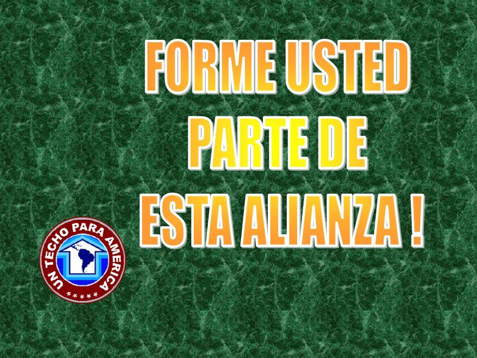 FORME USTED PARTE DE ESTA ALIANZA !