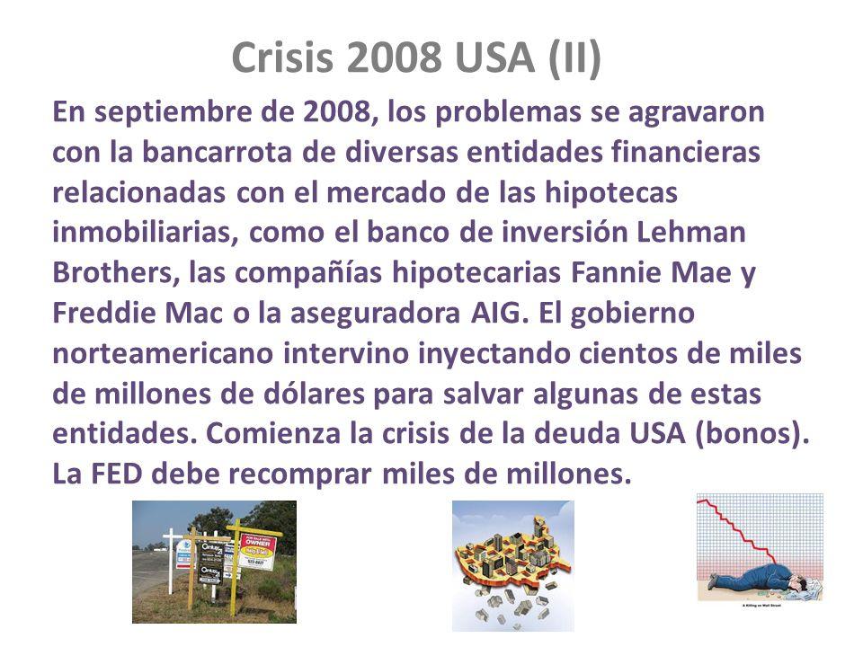 Crisis 2008 USA (II)
