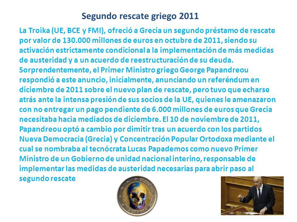 Segundo rescate griego 2011