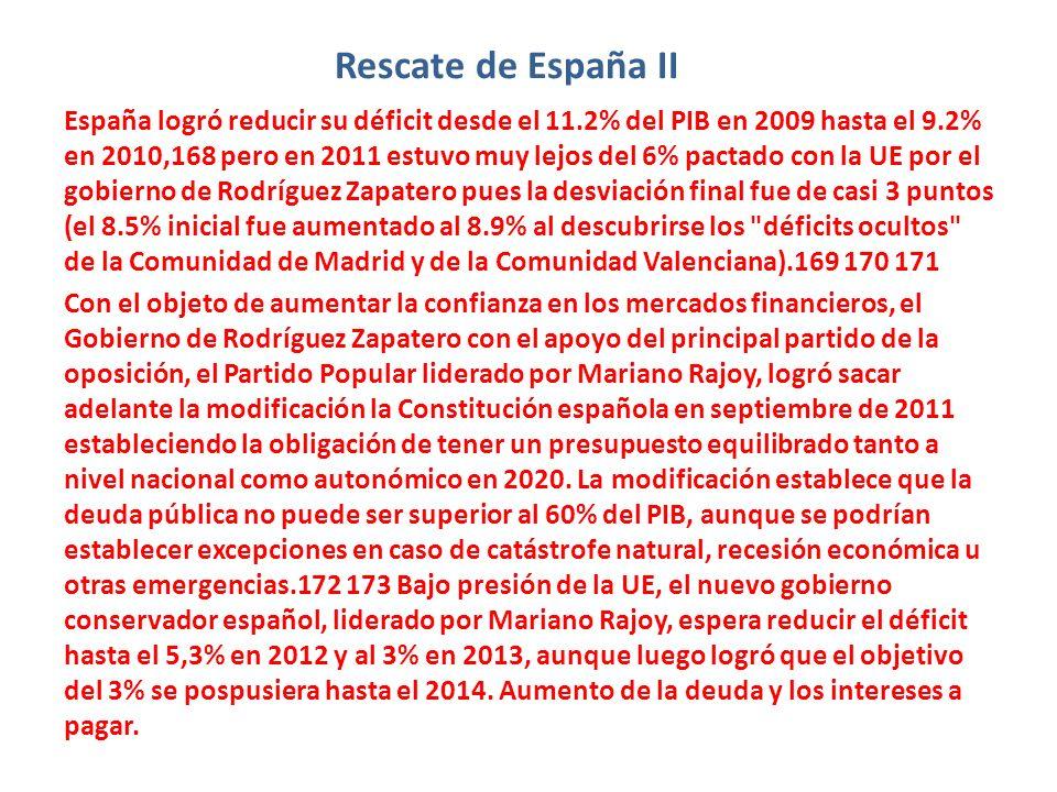 Rescate de España II