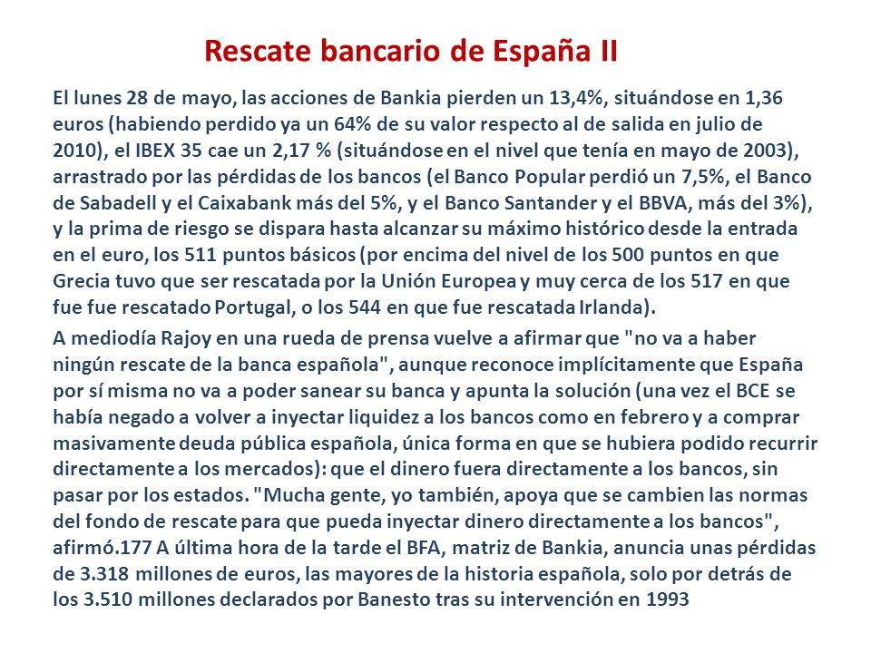 Rescate bancario de España II