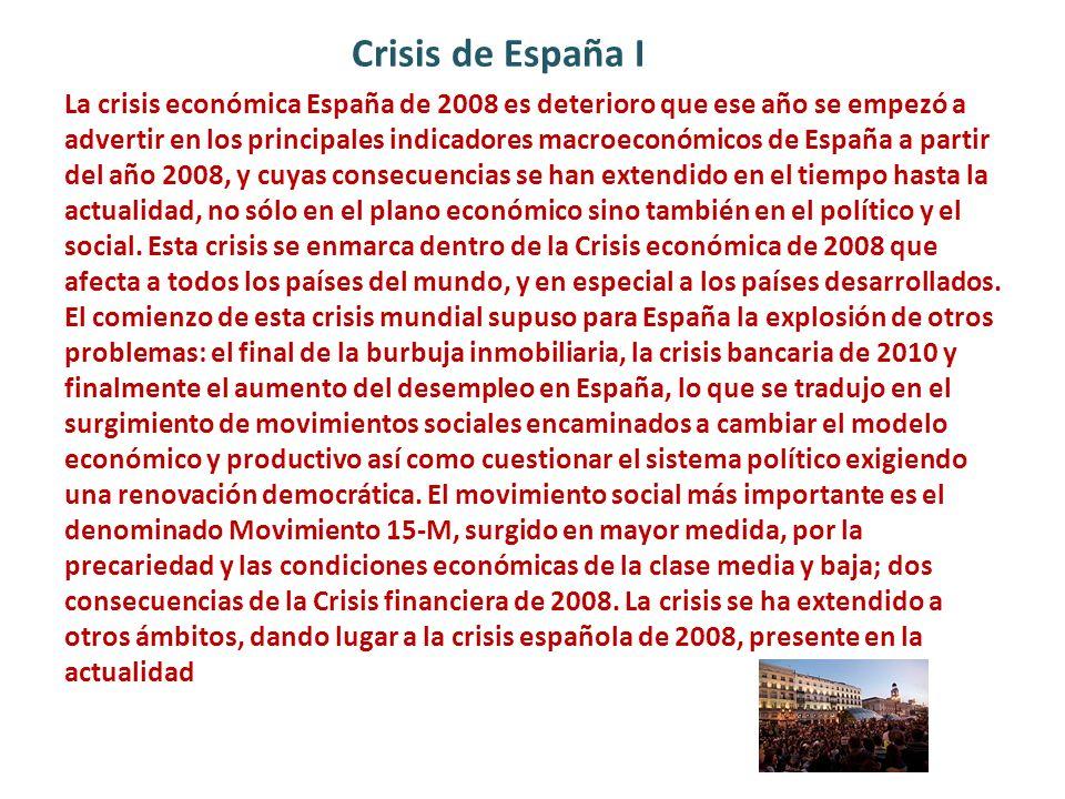 Crisis de España I