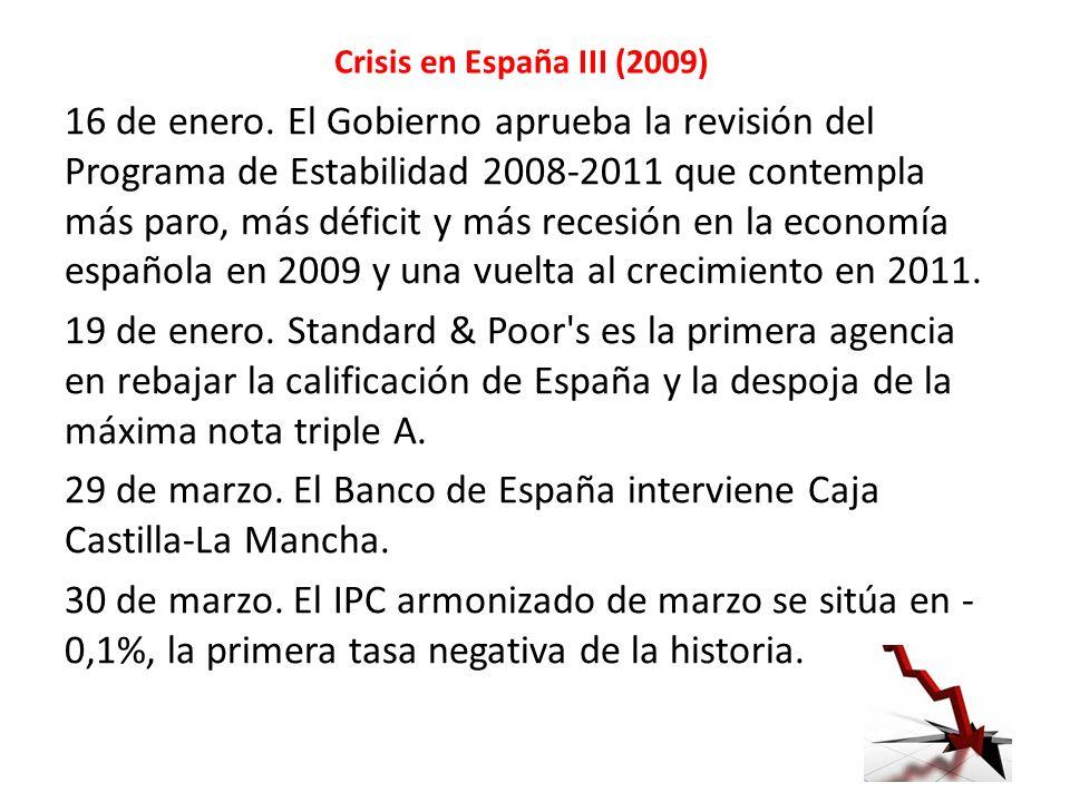 Crisis en España III (2009)