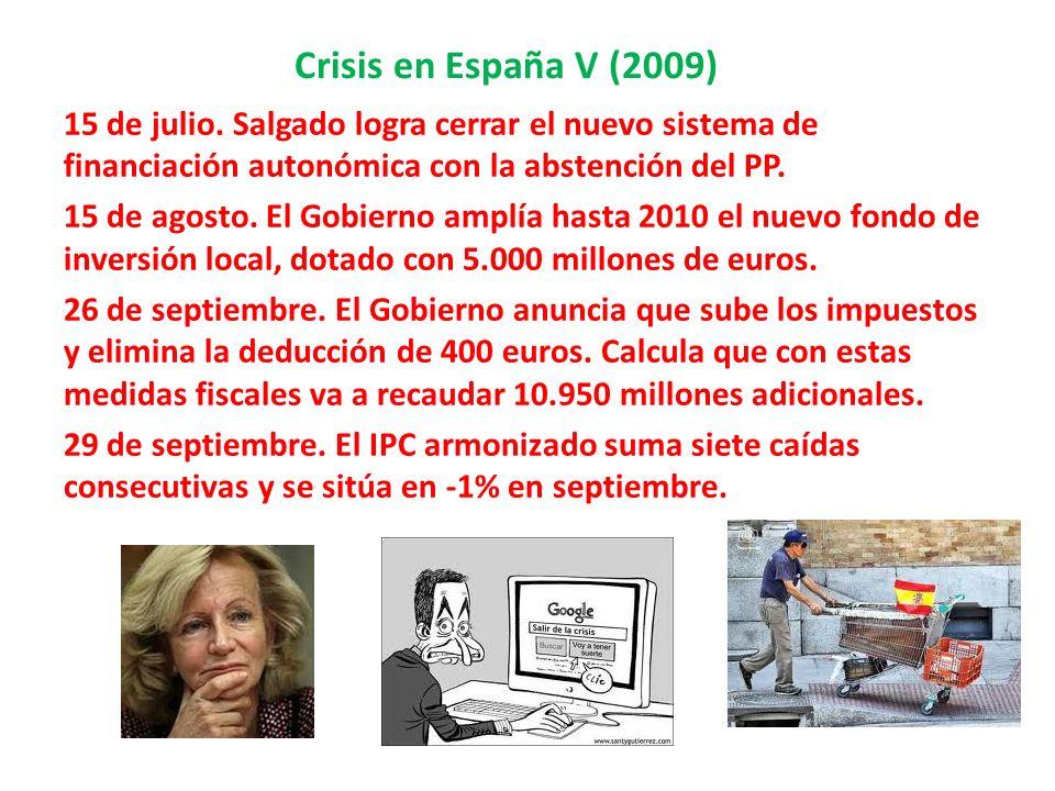 Crisis en España V (2009)