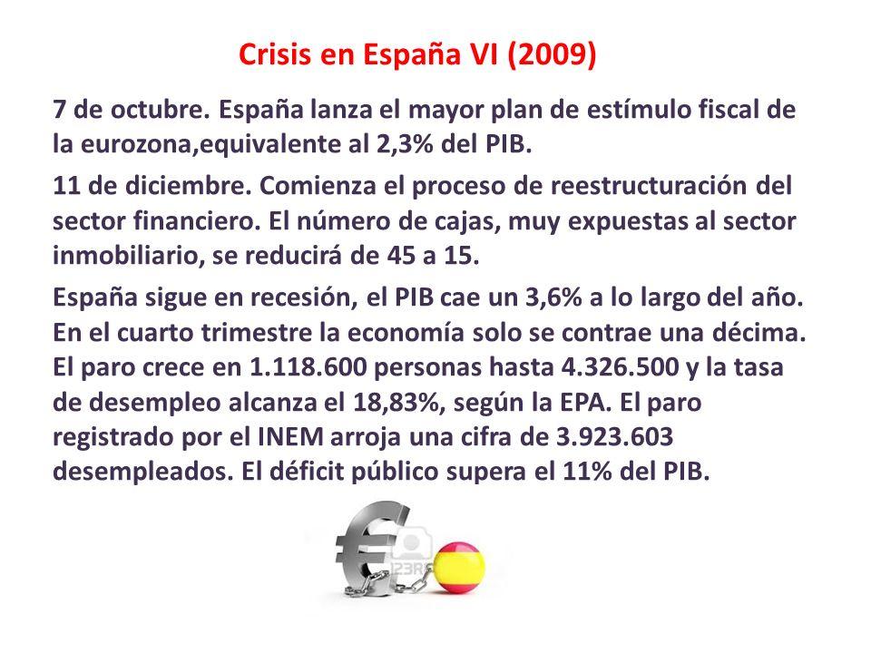 Crisis en España VI (2009)