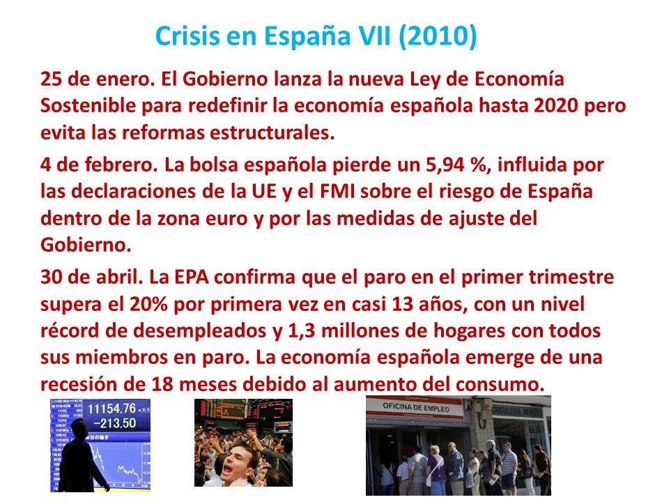 Crisis en España VII (2010)
