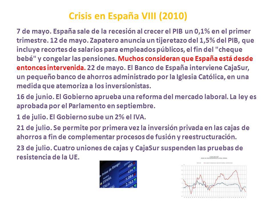 Crisis en España VIII (2010)