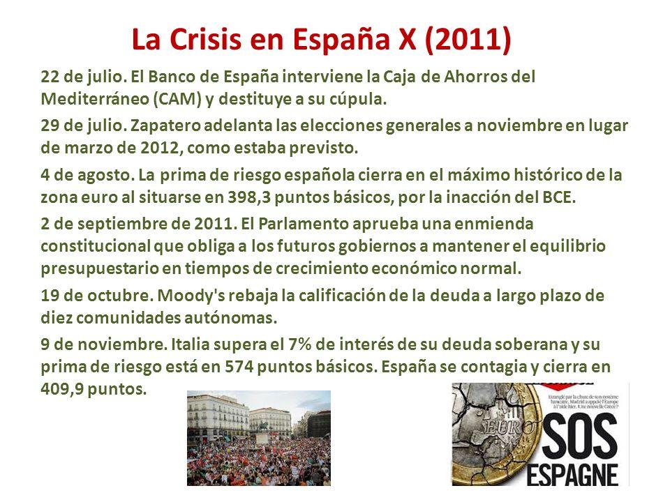 La Crisis en España X (2011)