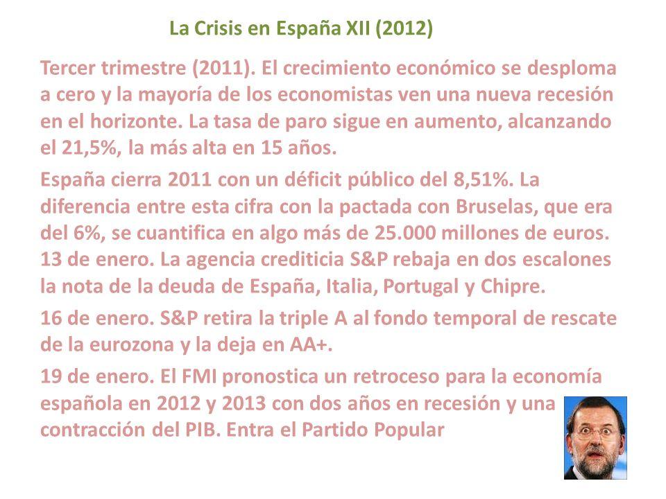 La Crisis en España XII (2012)