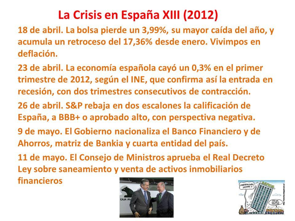 La Crisis en España XIII (2012)
