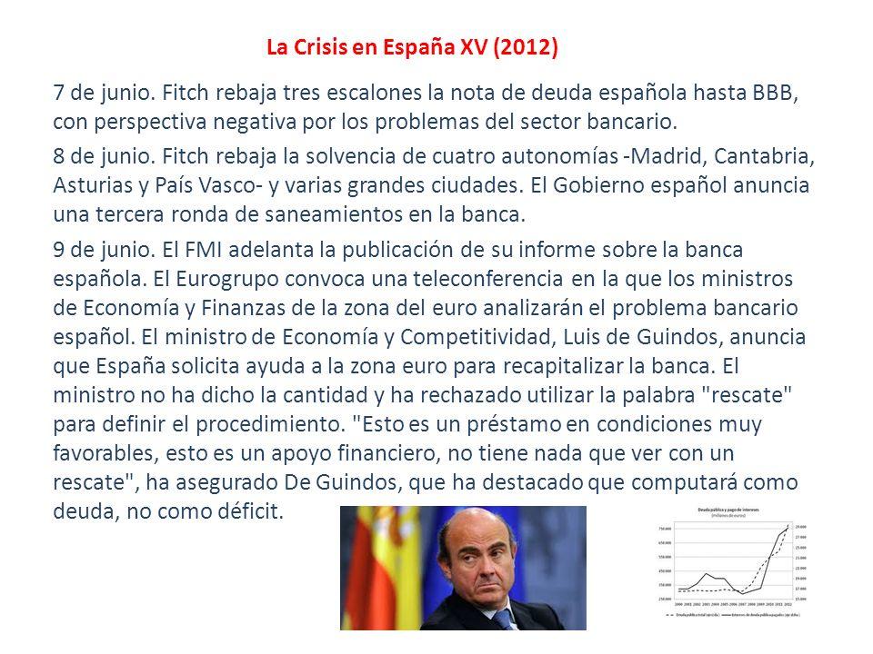 La Crisis en España XV (2012)
