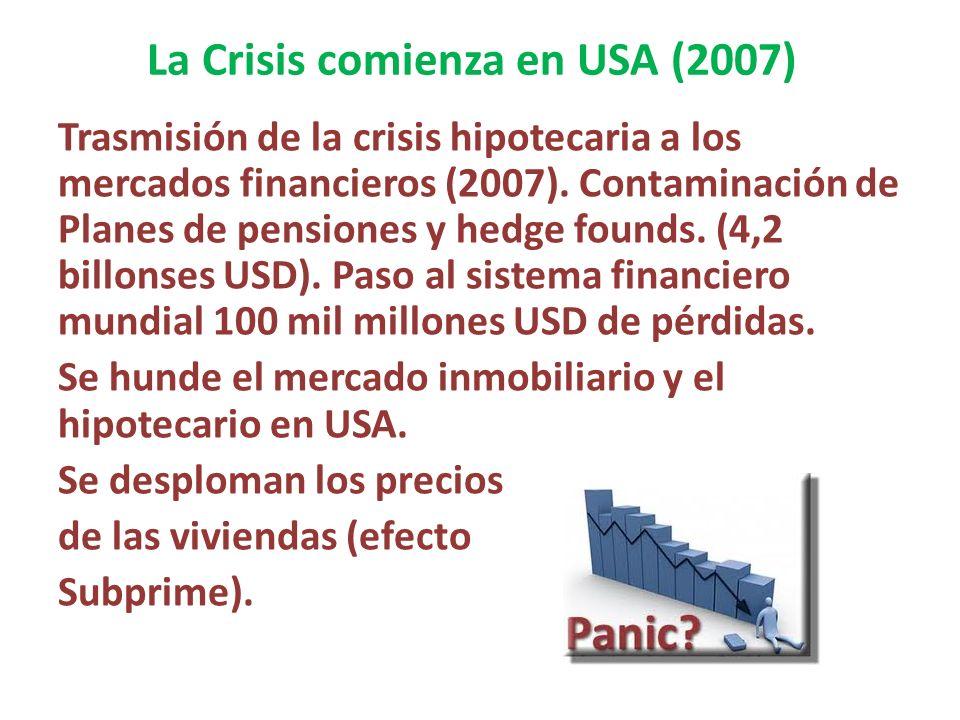 La Crisis comienza en USA (2007)
