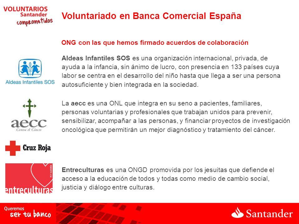 Voluntariado en Banca Comercial España