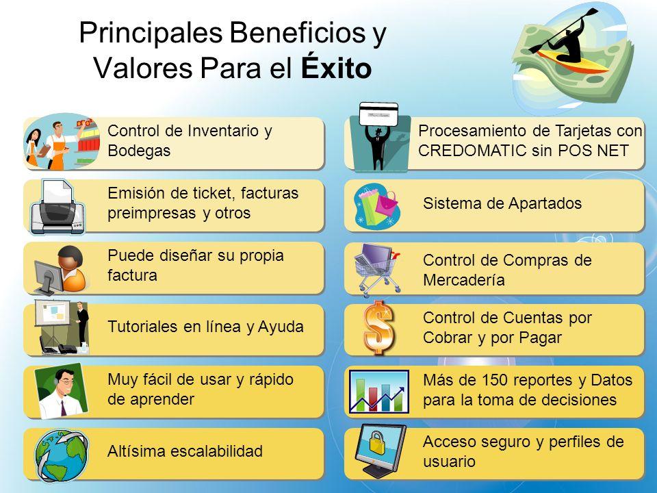 Principales Beneficios y Valores Para el Éxito