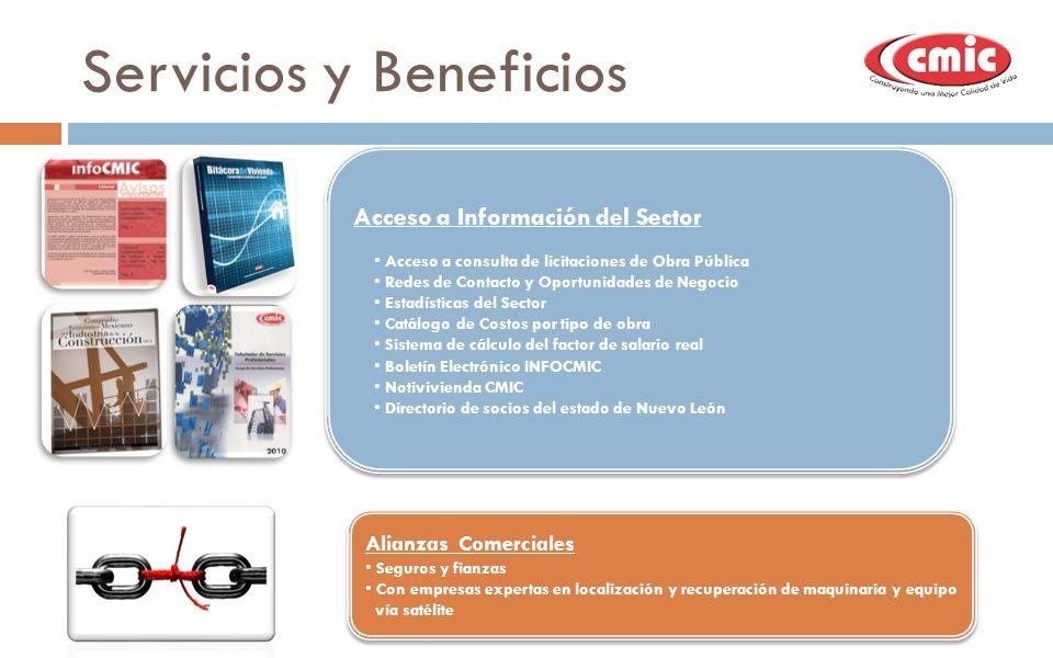 Servicios y Beneficios