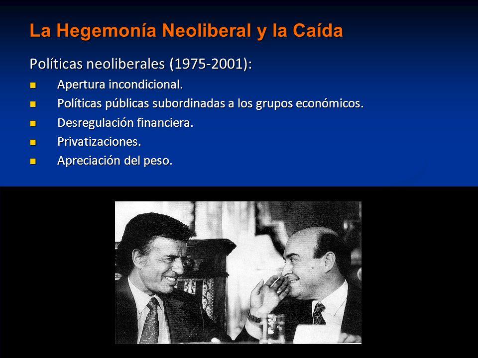 La Hegemonía Neoliberal y la Caída