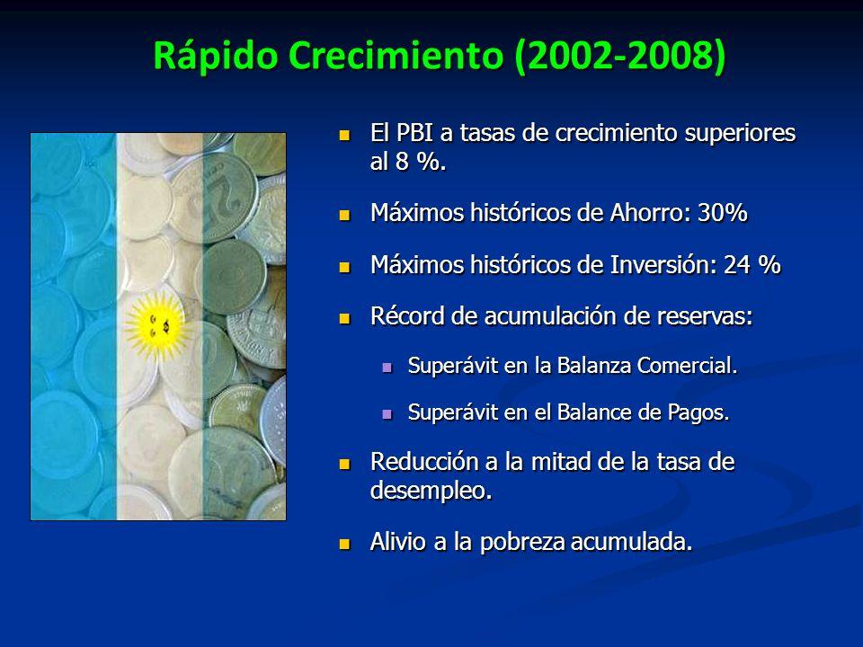 Rápido Crecimiento (2002-2008)