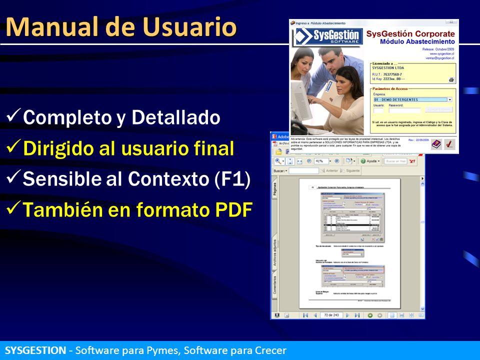 Manual de Usuario Completo y Detallado Dirigido al usuario final