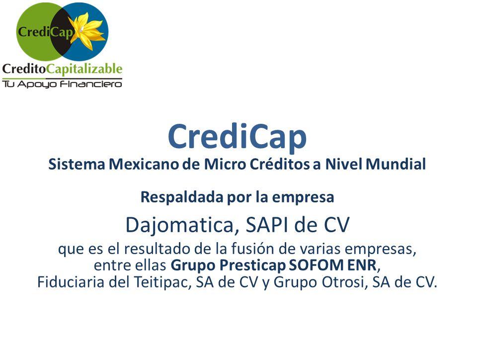 CrediCap Dajomatica, SAPI de CV