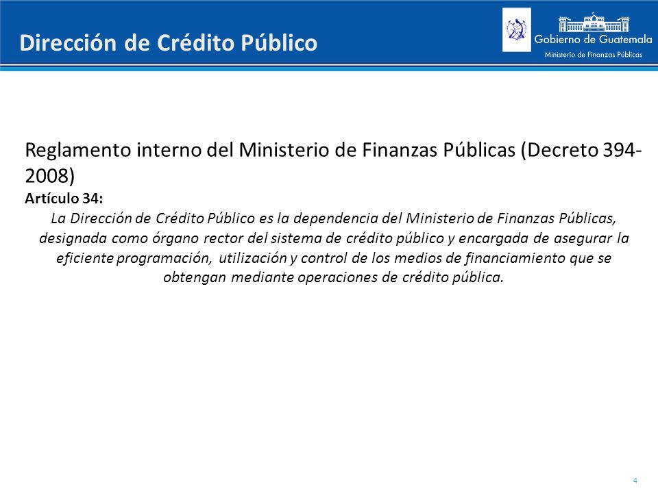 Dirección de Crédito Público