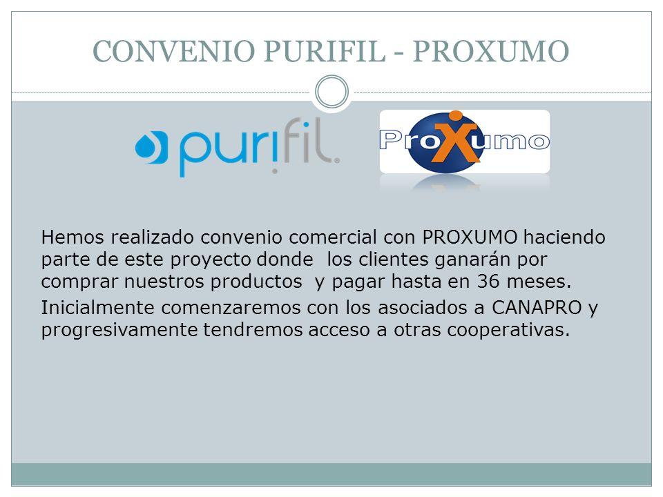 CONVENIO PURIFIL - PROXUMO