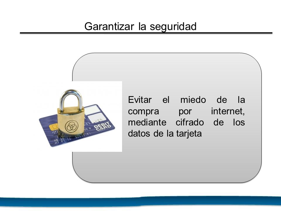Garantizar la seguridad