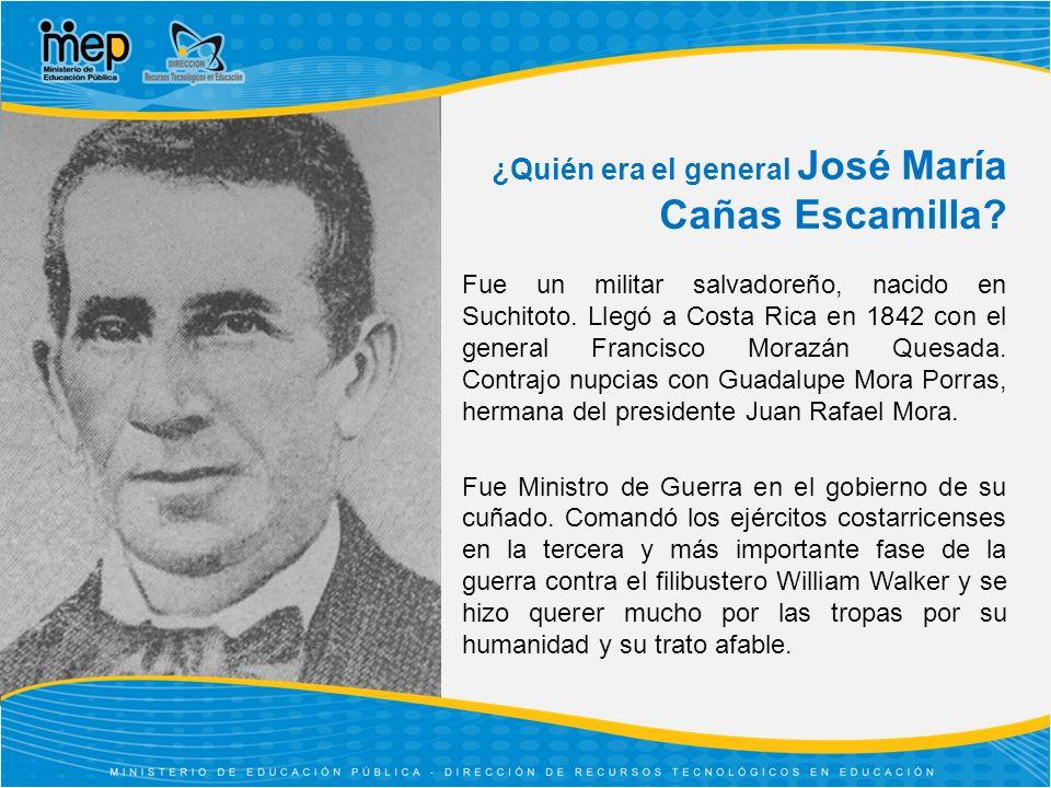 ¿Quién era el general José María Cañas Escamilla