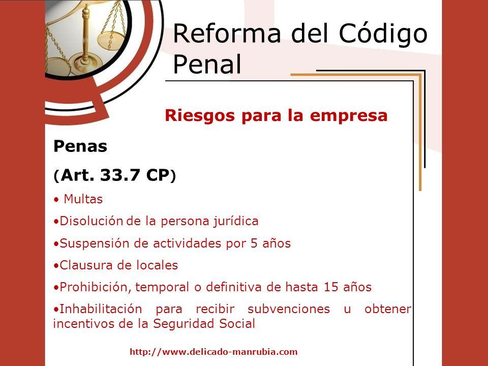 Reforma del Código Penal