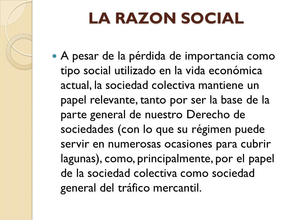 LA RAZON SOCIAL