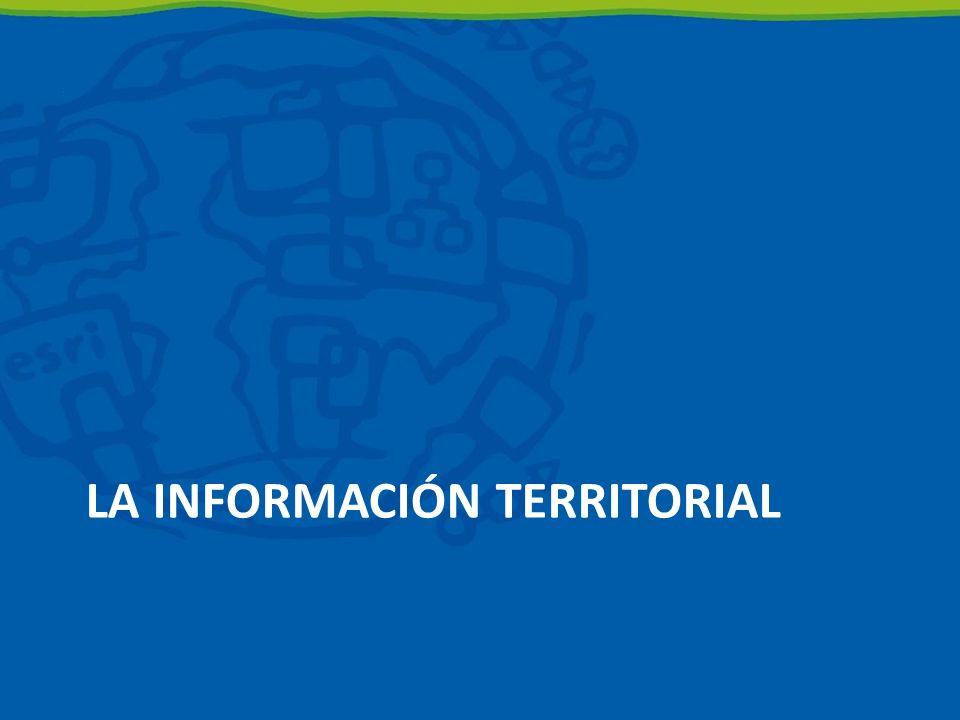 La información Territorial