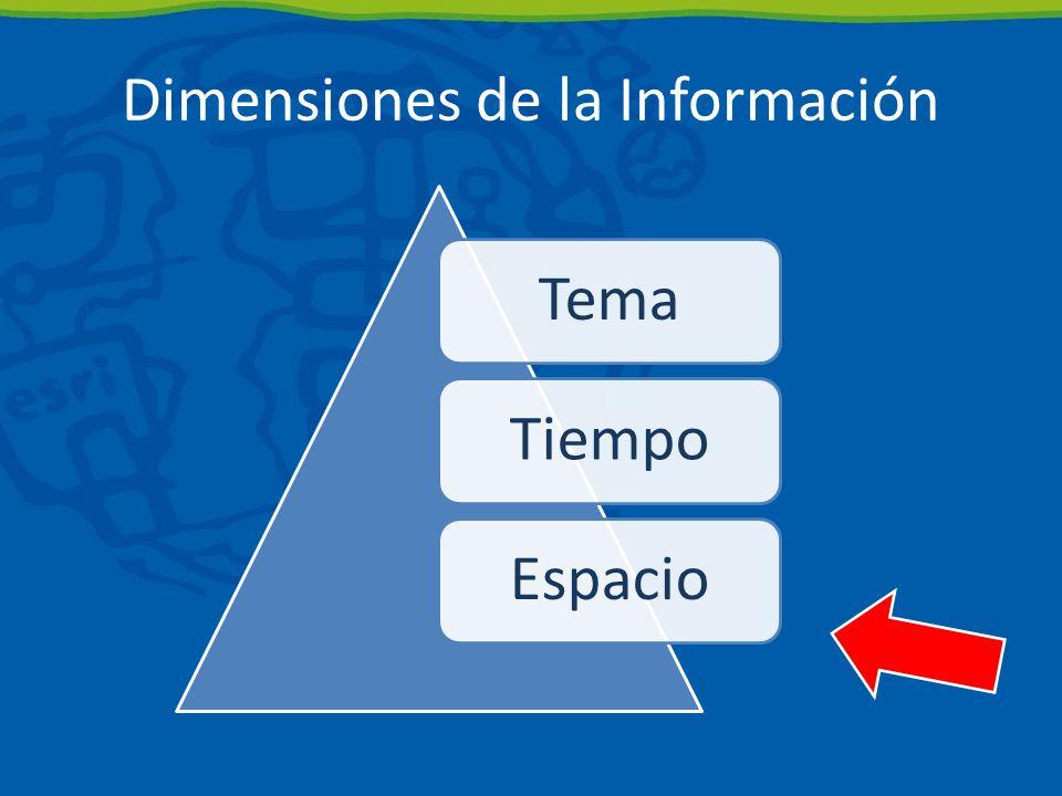Dimensiones de la Información