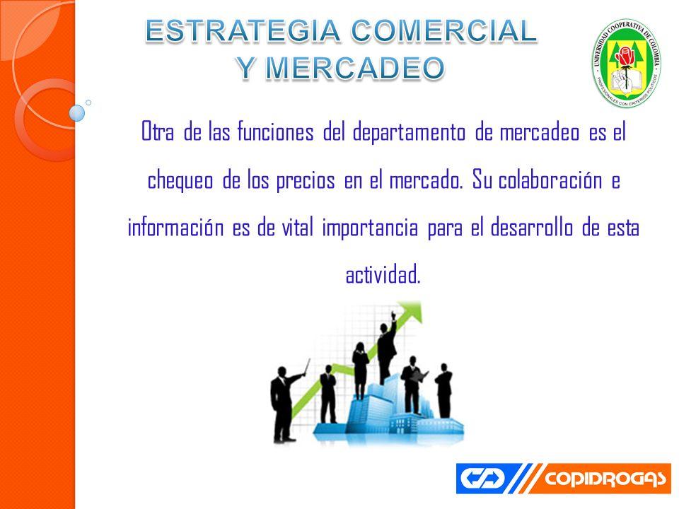 ESTRATEGIA COMERCIAL Y MERCADEO
