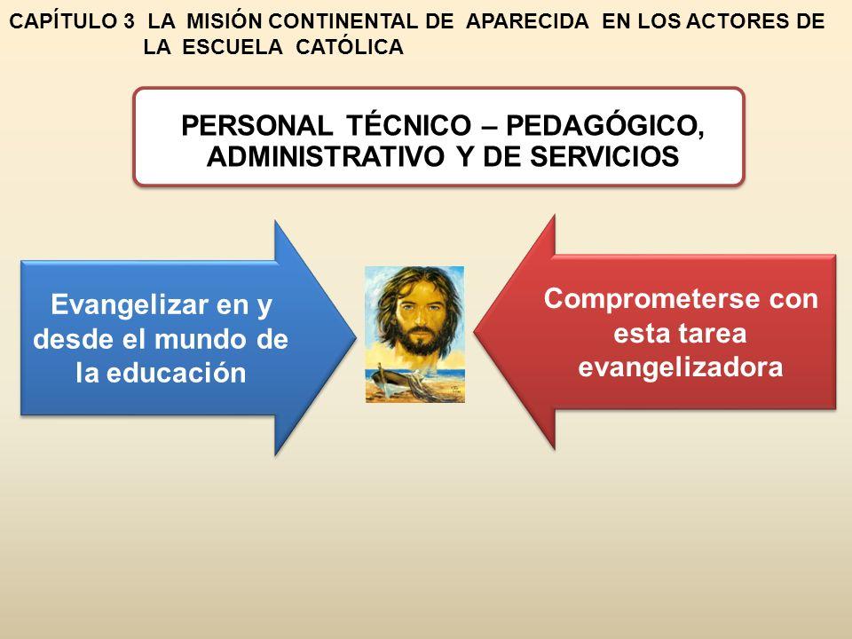 PERSONAL TÉCNICO – PEDAGÓGICO, ADMINISTRATIVO Y DE SERVICIOS