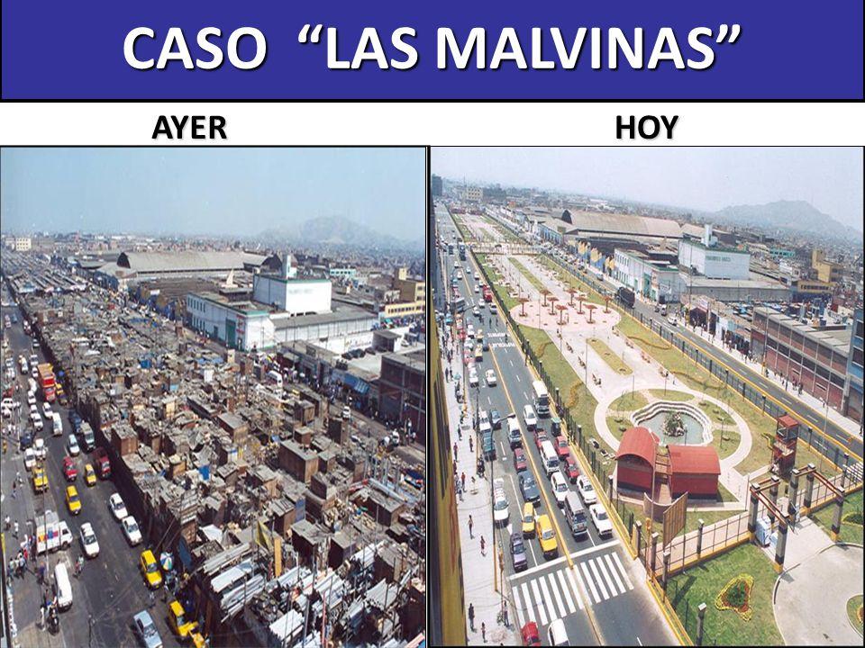 CASO LAS MALVINAS AYER HOY