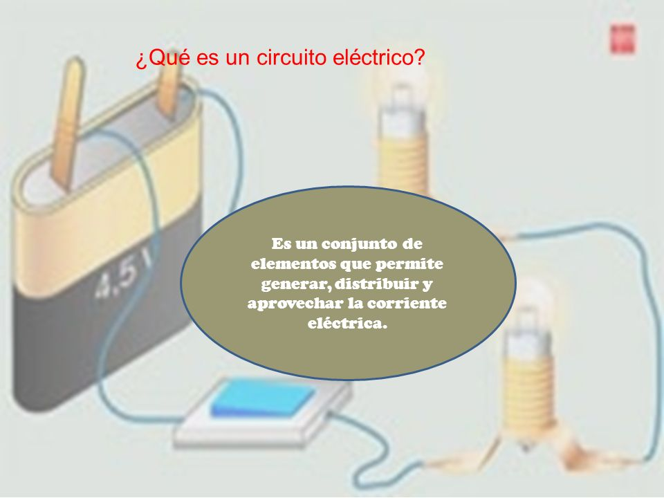 ¿Qué es un circuito eléctrico