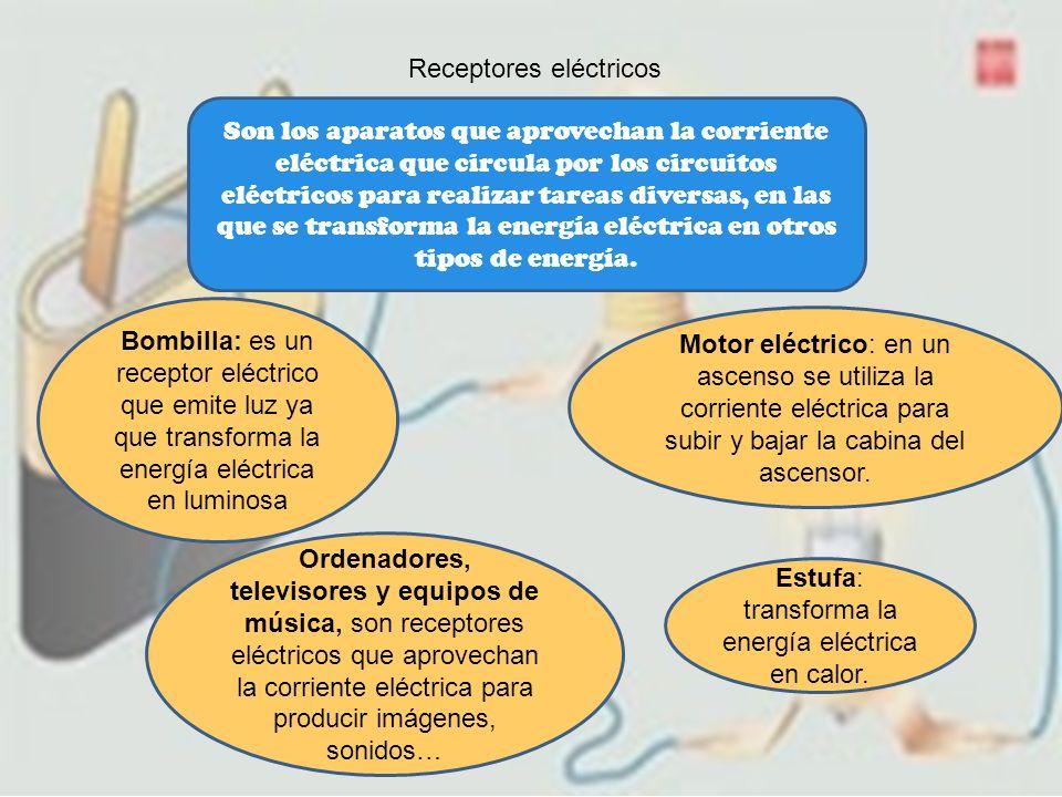 Receptores eléctricos
