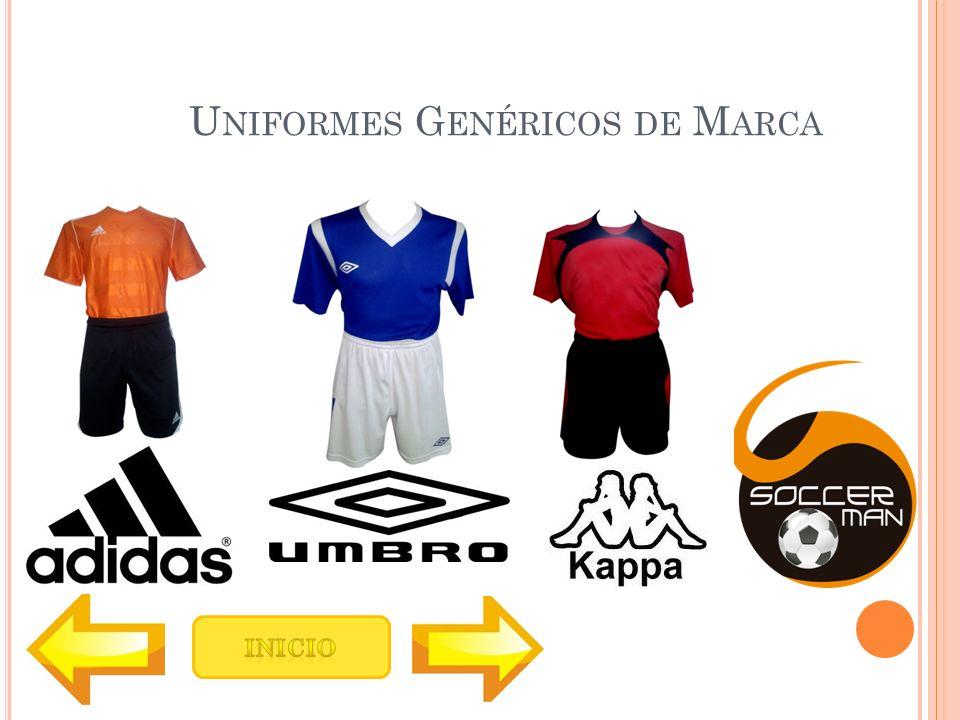 Uniformes Genéricos de Marca