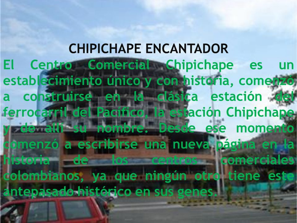 CHIPICHAPE ENCANTADOR